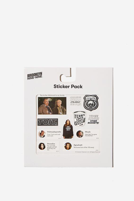 Brooklyn Nine-Nine Sticker Pack, LCN UNI BROOKLYN QUOTES