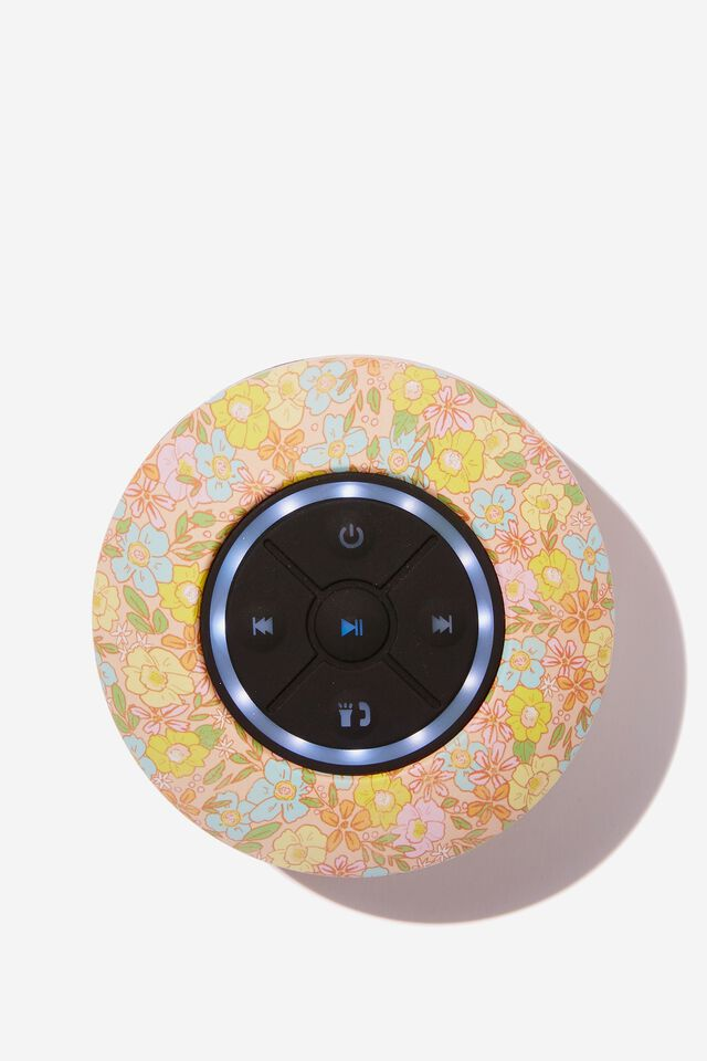 Wireless Led Shower Speaker, DITSY FLORAL SAND 2.0