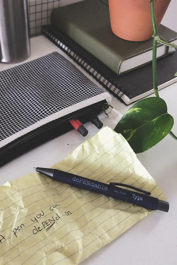 Dependable Ballpoint Pen, WELSH SLATE