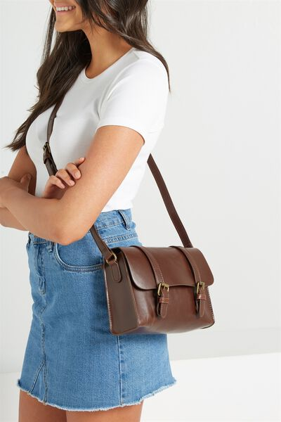 Mini Harry Bag, RICH TAN