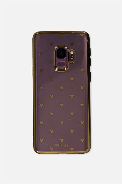 Transparent Phone Cover S9, LCN MICKEY DITSY