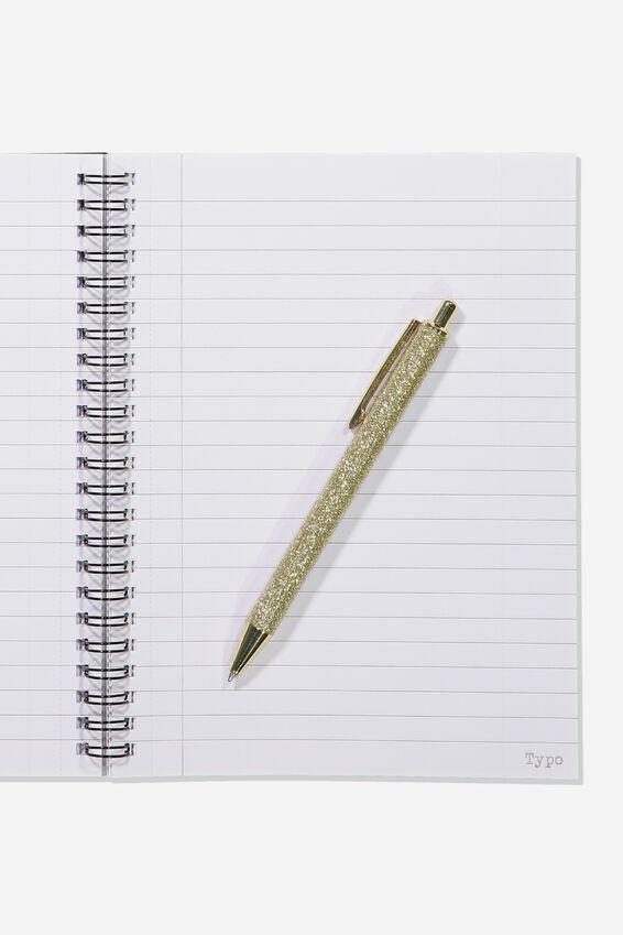 Small Spinout Notebook - V, BROKE NOTES NOODLES