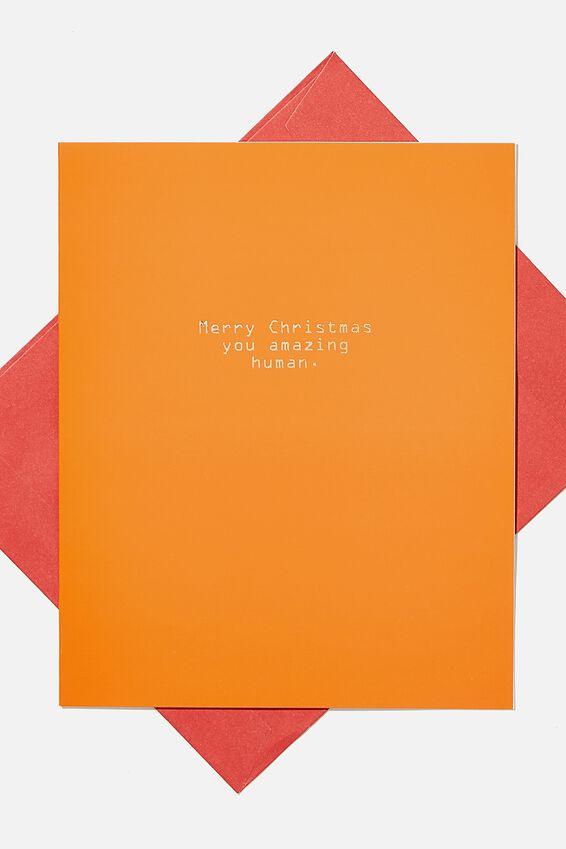Christmas Card 2020, YOU AMAZING HUMAN