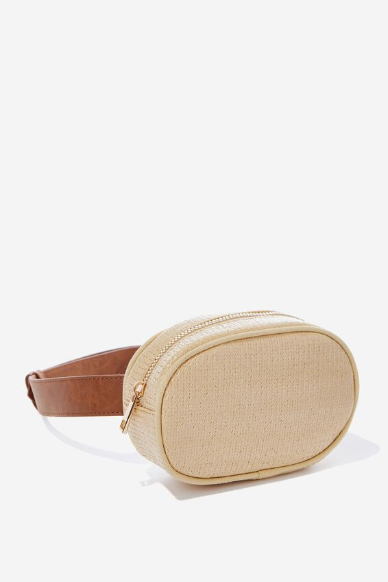 Belt Bag, NATURAL WEAVE