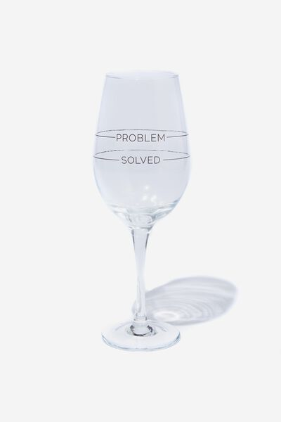 Mega Wine Glass, PROBLEM SOLVED!
