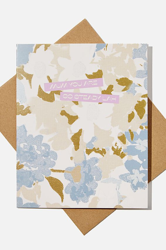 Mothers Day Card 2021, RG ASIA MUM FLORAL LAH