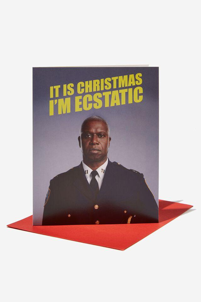 Christmas Card 2021, LCN UNI BROOKLYN 99 HOLT ECSTATIC