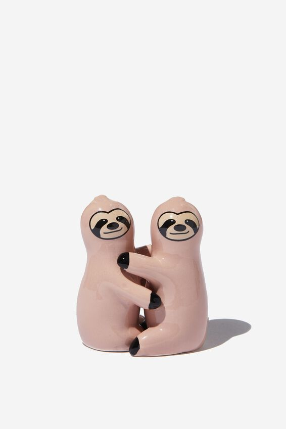 Salt & Pepper Shakers, SLOTHS