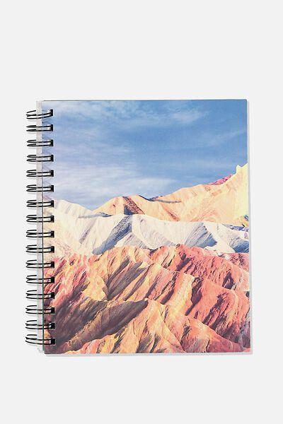 A5 Campus Notebook-V, MOUNTAIN HIGH