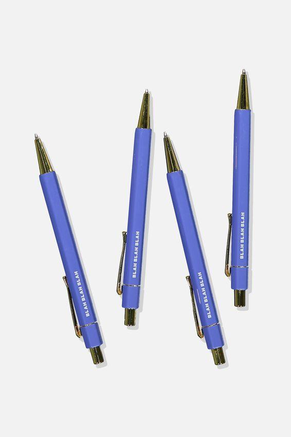 Hexe Pen Pack, BLUE