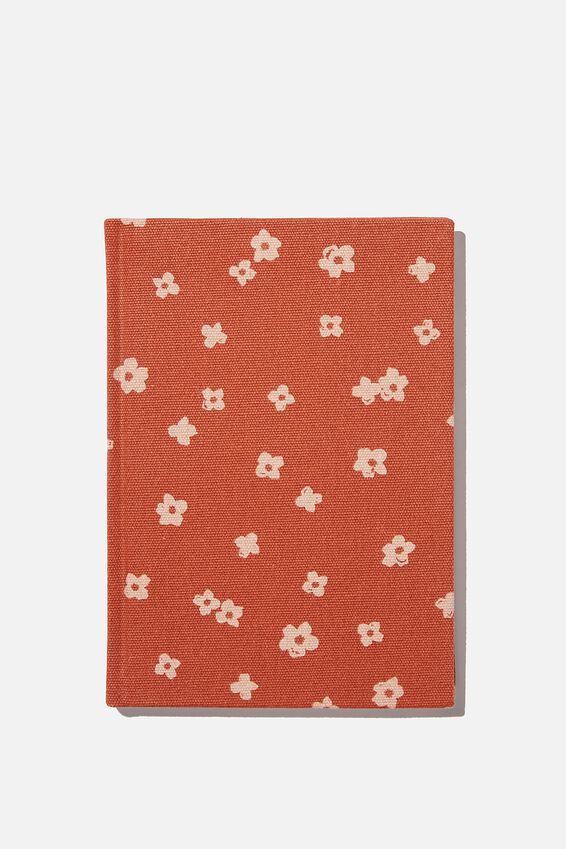 2021 A5 Oxford Weekly Diary, CHALIE FLORAL RUST