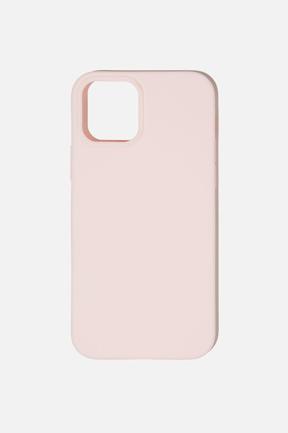 Recycled Phone Case Iphone 12, 12 Pro, PALE PINK