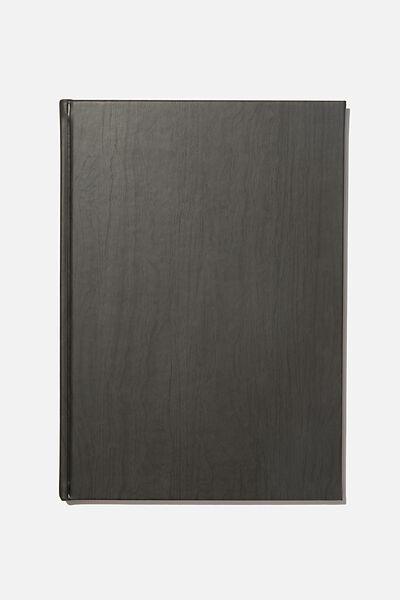 A4 Sketch Notebook, DARK WOOD