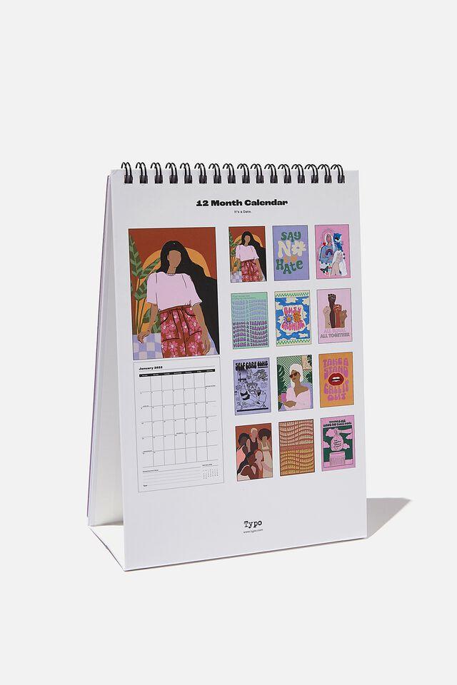 2022 Get A Date Desk Calendar, VIBING & THRIVING