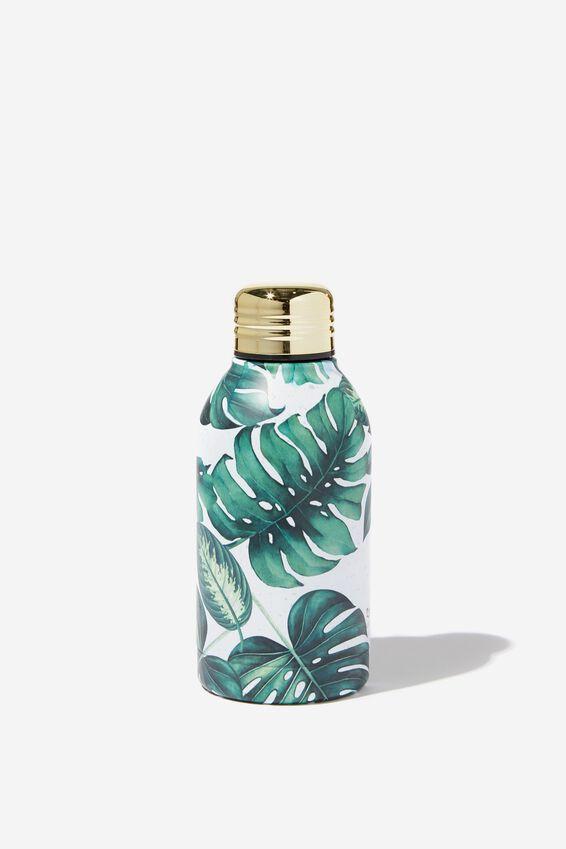 Mini Metal Drink Bottle, PLANT LOVER