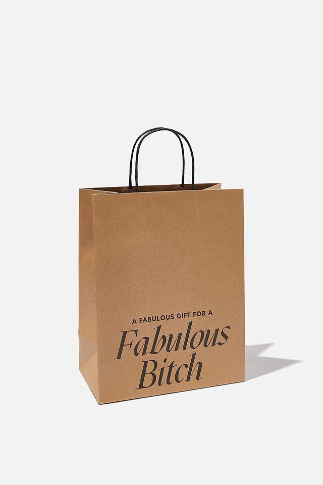 Get Stuffed Gift Bag - Medium, FABULOUS BITCH CRAFT!