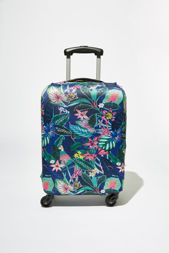 Suitcase Cover - Small, RESORT FLORAL