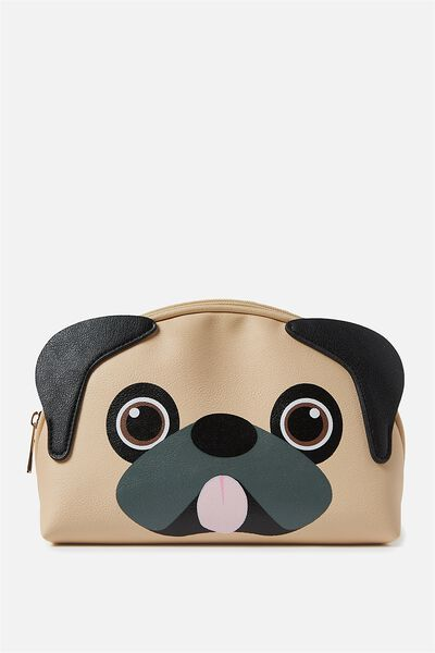 Novelty Cosmetic Bag, PUG