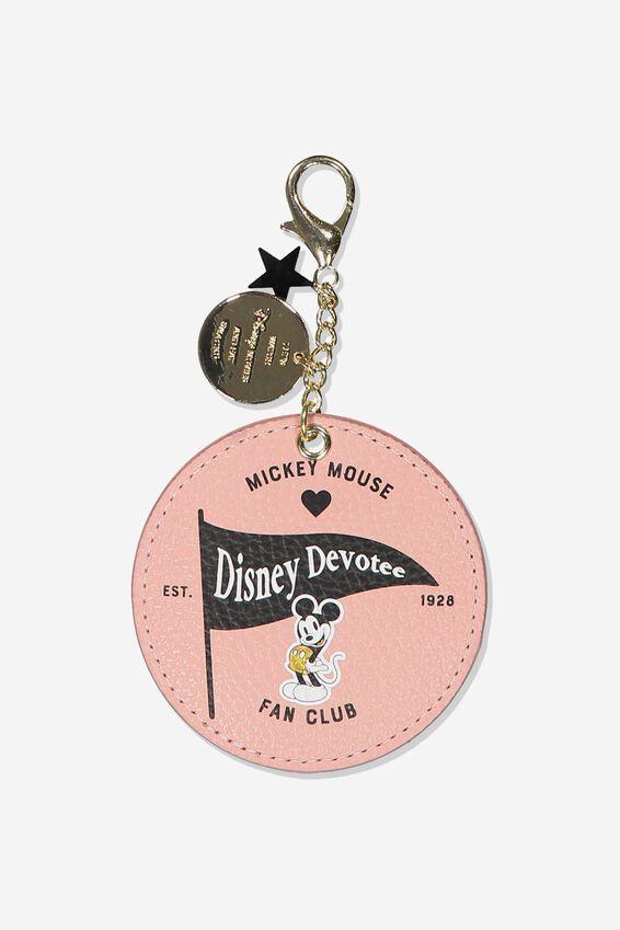Disney Bag Charm, LCN DIS BLUSH MICKEY