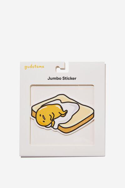 Jumbo Sticker, LCN SAN GU TOAST