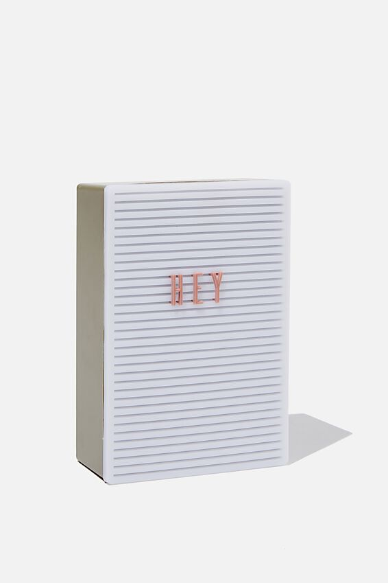 Micro Light Box, KHAKI & DUSTY ROSE