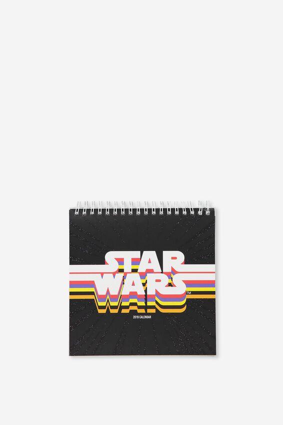 Star Wars Desk Calendar 2019, LCN STAR WARS