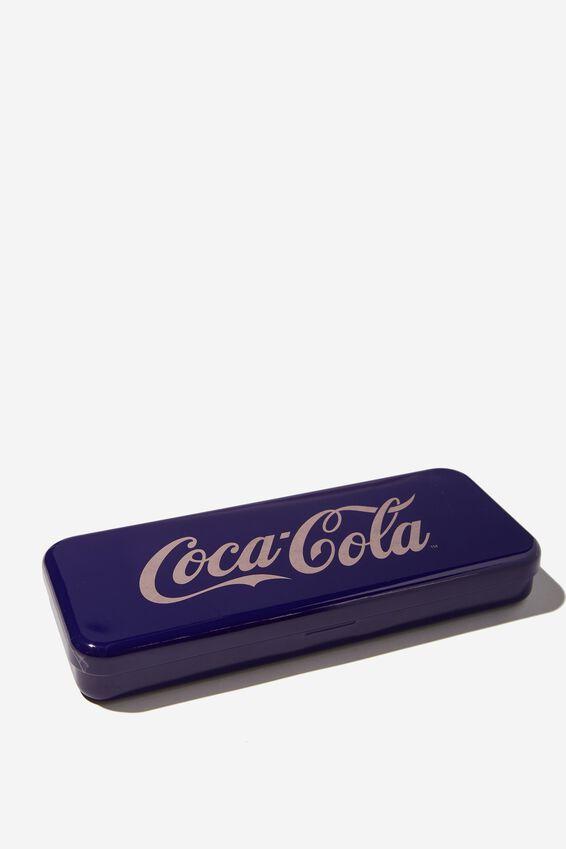 Coca Cola Tinny Pencil Case, LCN COK ENJOY COCA COLA