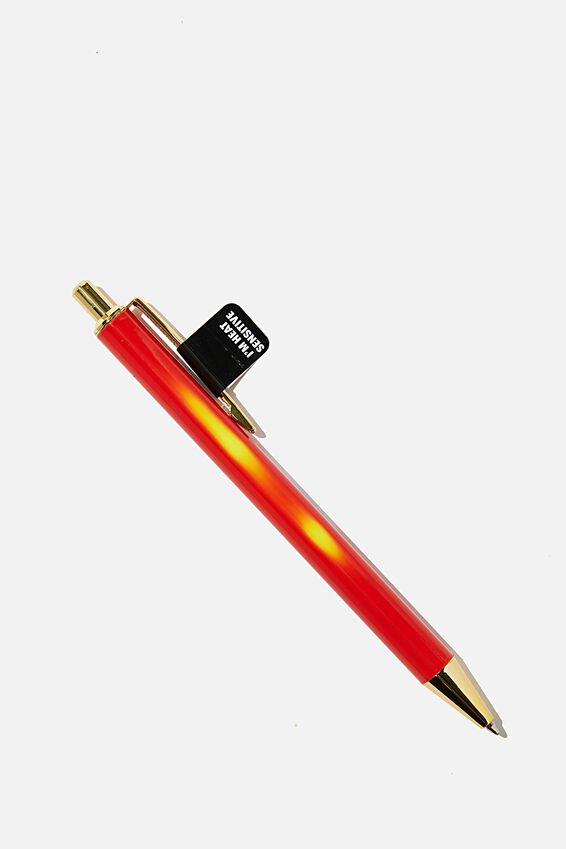 Colour Changing Pen, ORANGE WITH YELLOW