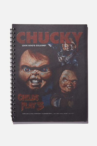 A4 Campus Notebook Recycled, LCN UNI CHUCKY TEE