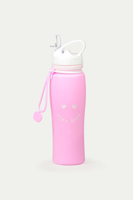 Silicon Roll Up Drink Bottle, STAY KIND