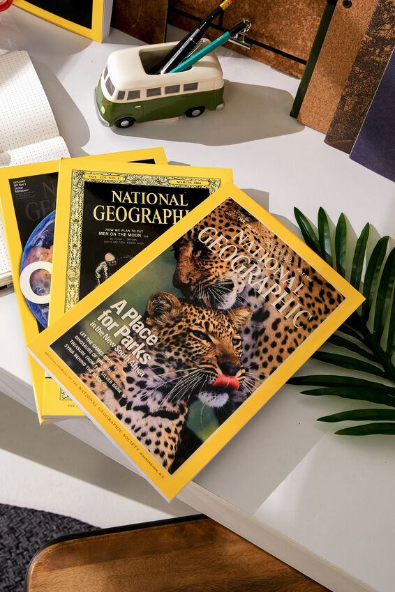 National Geographic Notebook, LCN NAT LEOPARD