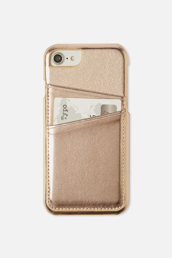 The Phone Cardholder 6,7,8, ROSE GOLD