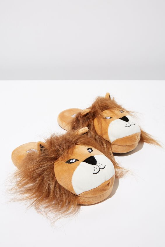 Novelty Slippers, LION