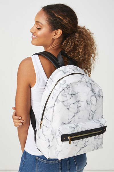 Commuter Backpack, MARBLE