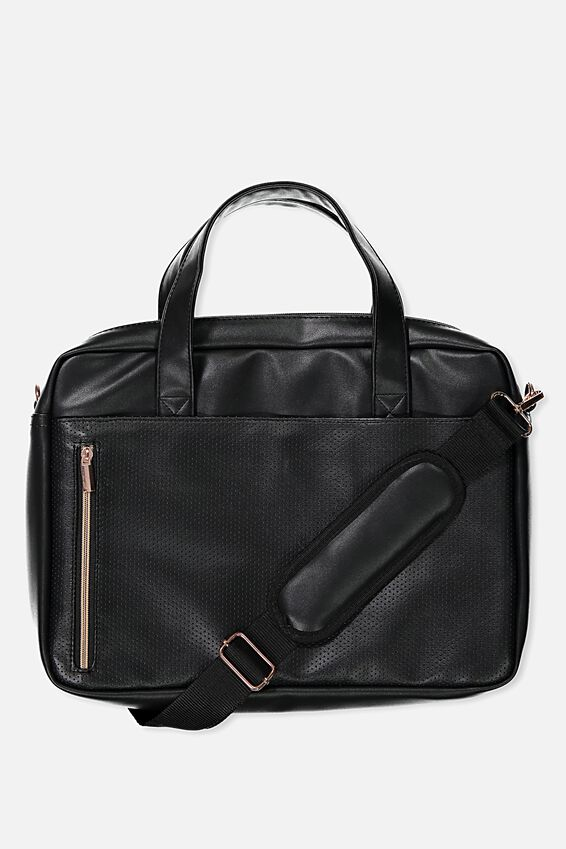 Take Charge Laptop Bag 15in, BLACK LUXE