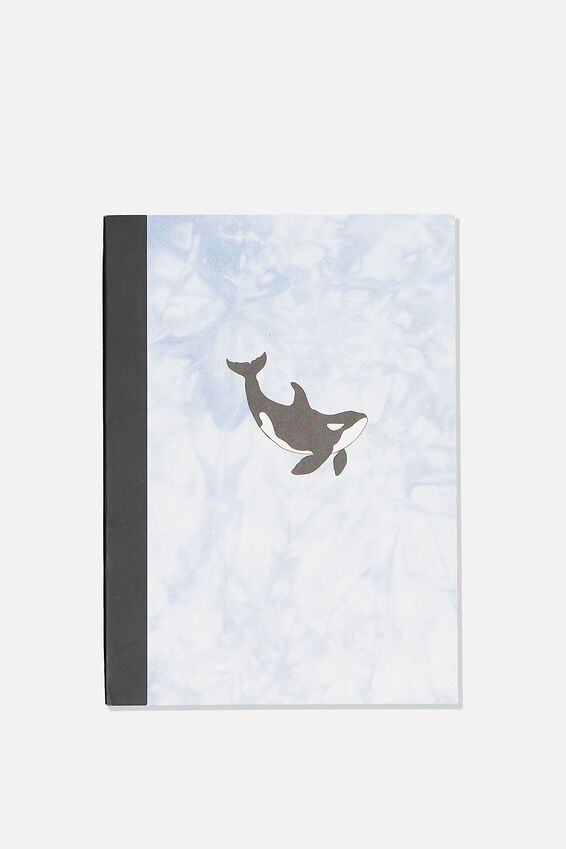 A5 Academy Notebook, WHALE
