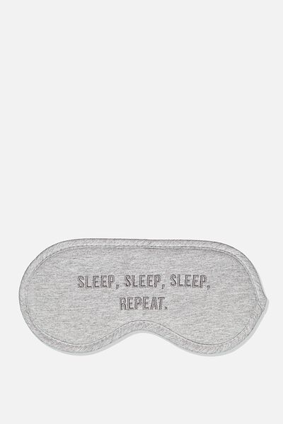 Premium Sleep Eye Mask, SLEEP REPEAT