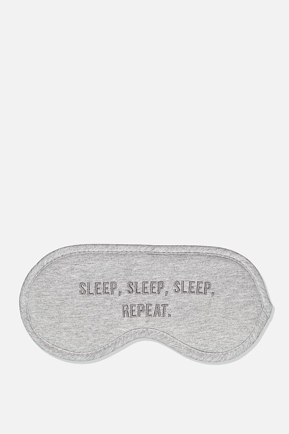 Premium Sleep Eye Mask, SLEEP REPEAT
