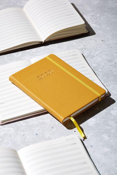 2020 A5 Weekly Buffalo Diary, MUSTARD