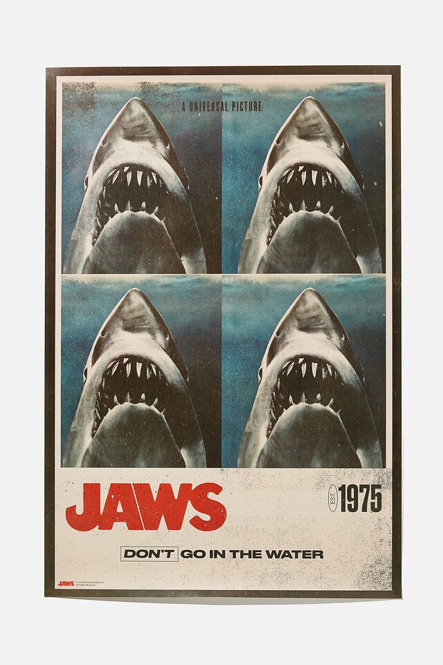 Jaws Hang Out Poster, LCN UNI JAWS