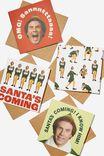 Elf Christmas Card 20 Pack, LCN WB ELF