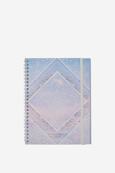 A5 Spinout Notebook - 120 Pages, MANDALA DREAMS