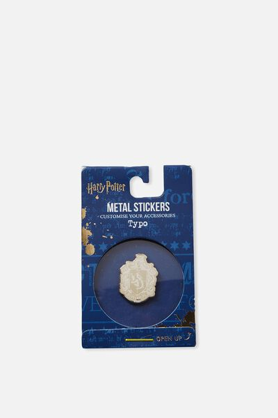 Licensed Metal Stickers, LCN WB HPO HUFFLEPUFF