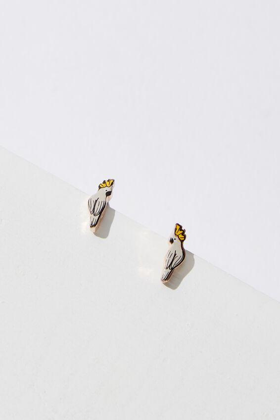 Novelty Earrings, BIRDS