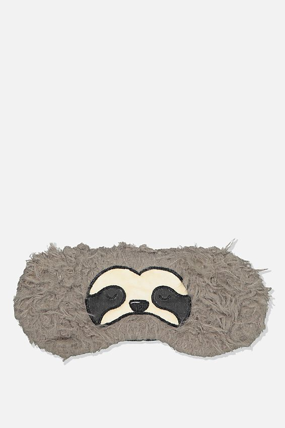 Premium Sleep Eye Mask, SLOTH FACE
