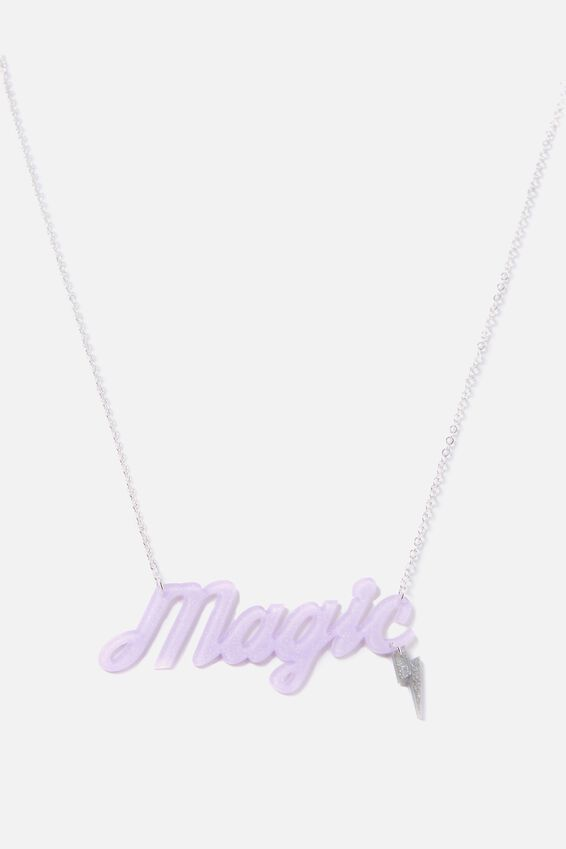 Premium Novelty Necklace, MAGIC