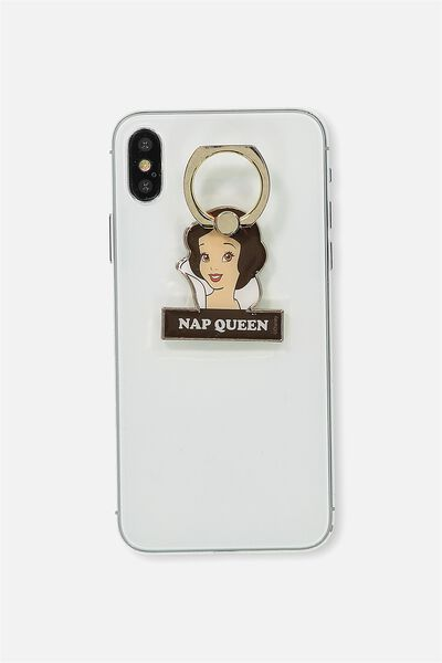Metal Phone Ring, LCN SNOW WHITE
