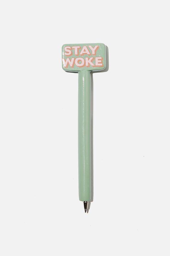 Novelty Pen, STAY WOKE