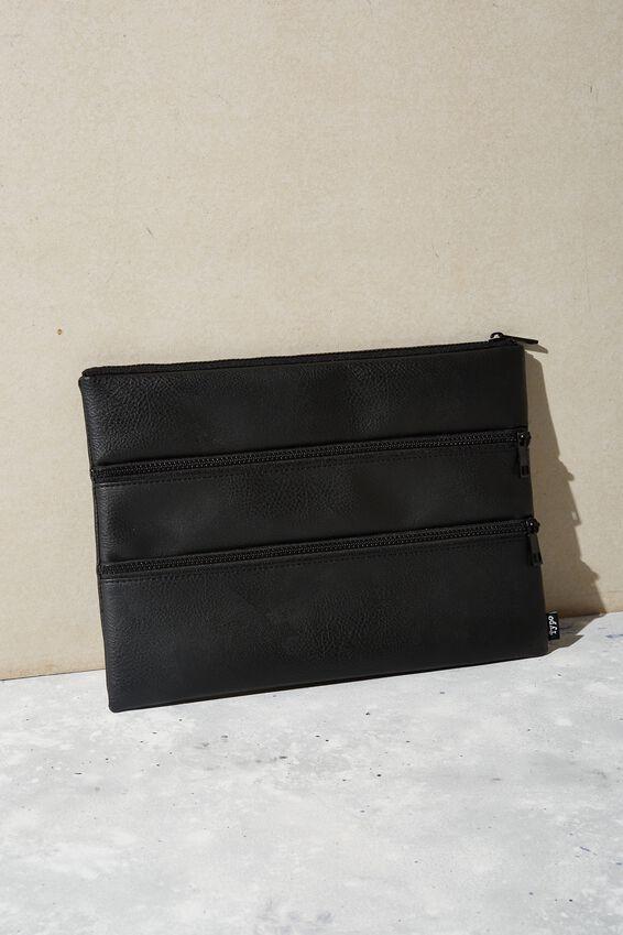 Keep It Together Pencil Case, BLACK
