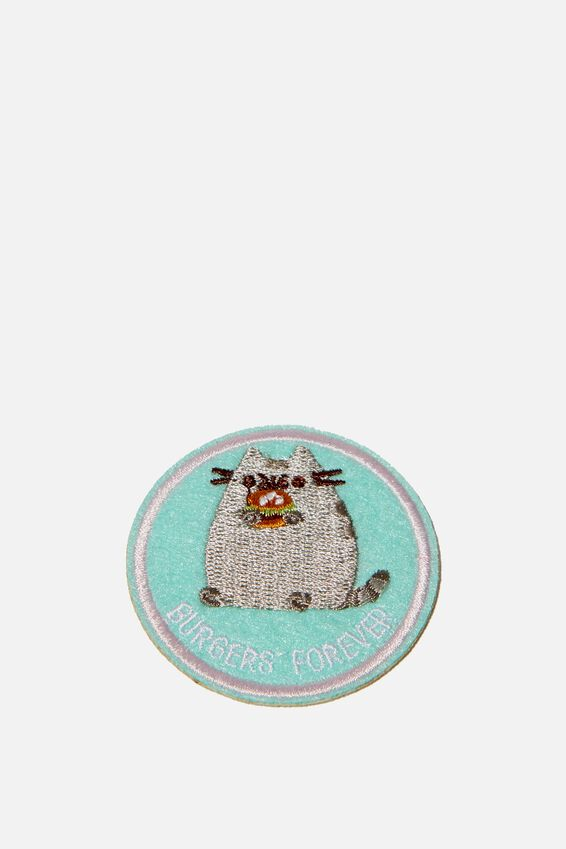 Lcn Fabric Badge, LCN PUSHEEN BURGERS FOREVER